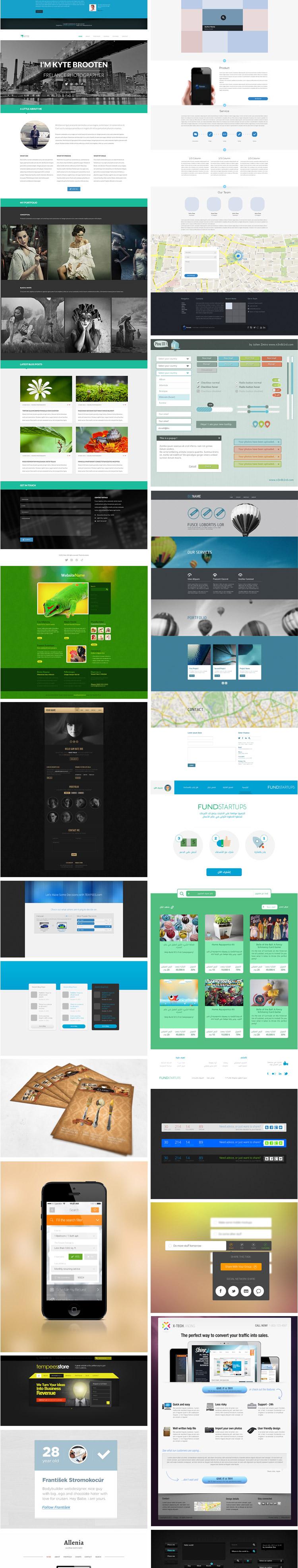 [UI社出品]5G精选UI设计素材,手机UI界面 psd素材,网站模板-第三季 素材包-第4张