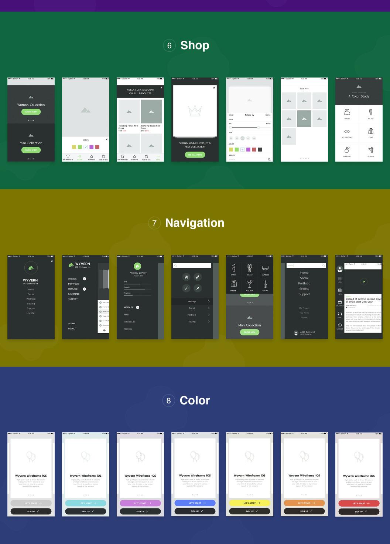 55个UI界面设计套件下载 sketch素材下载 主题包-第2张