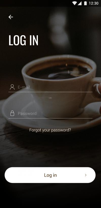 高端的咖啡点单APP UI界面设计 .XD素材下载 界面-第2张