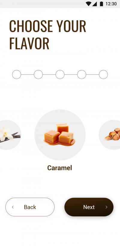 高端的咖啡点单APP UI界面设计 .XD素材下载 界面-第4张