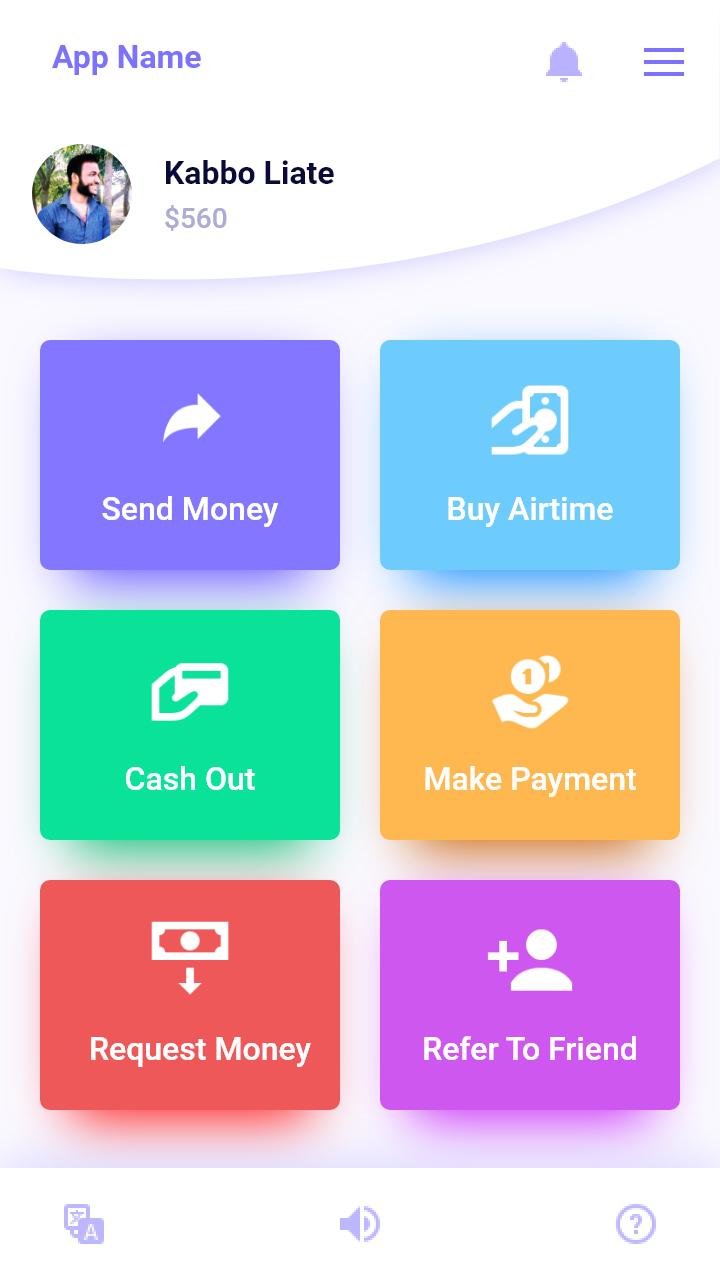 紫色的支付app ui界面设计 .xd素材下载 界面-第3张