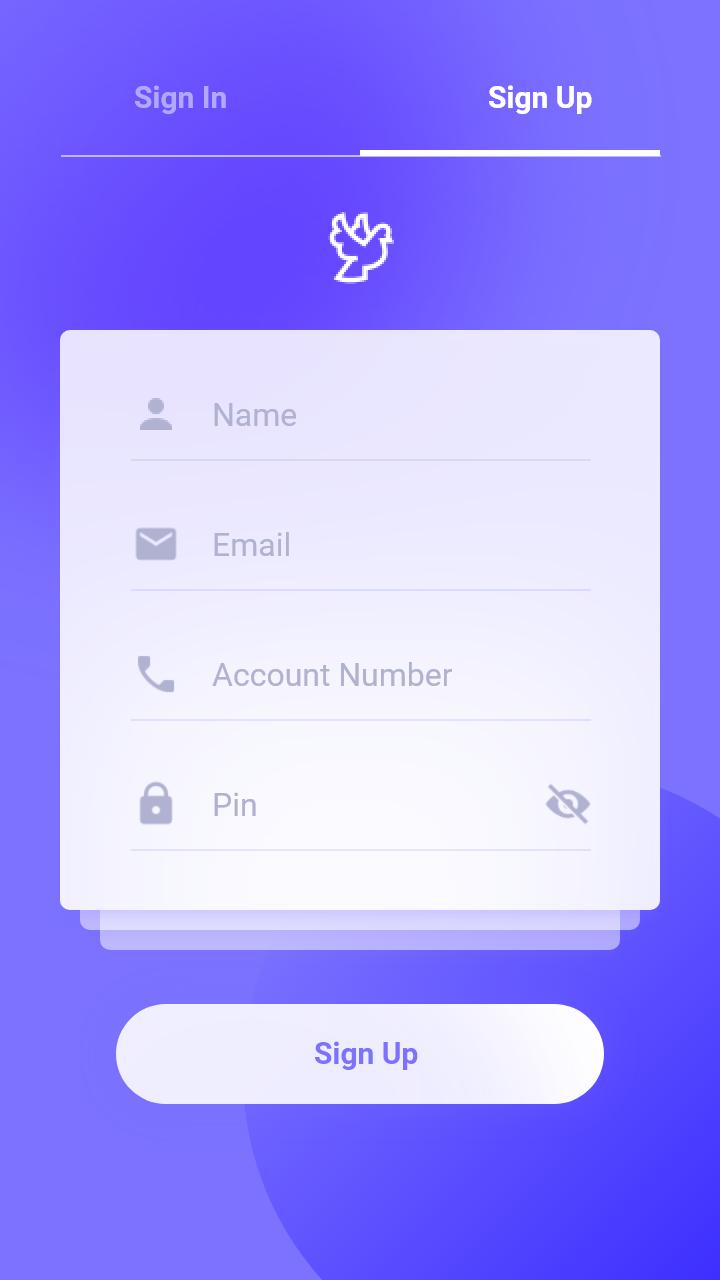 紫色的支付app ui界面设计 .xd素材下载 界面-第2张