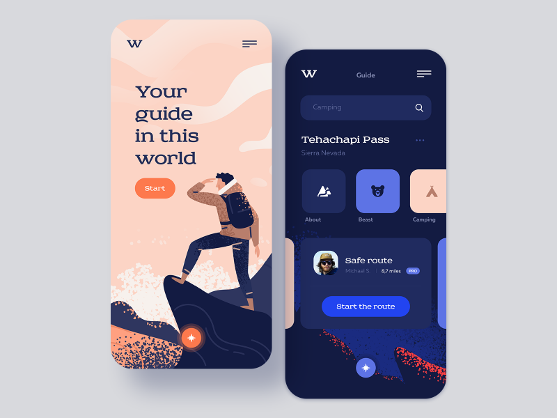 App搜索页UI界面设计欣赏
